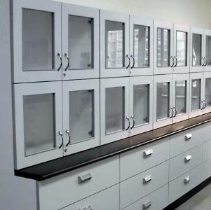木制储存柜 | 实验室设计王,www.oklab168.com,实验桌
